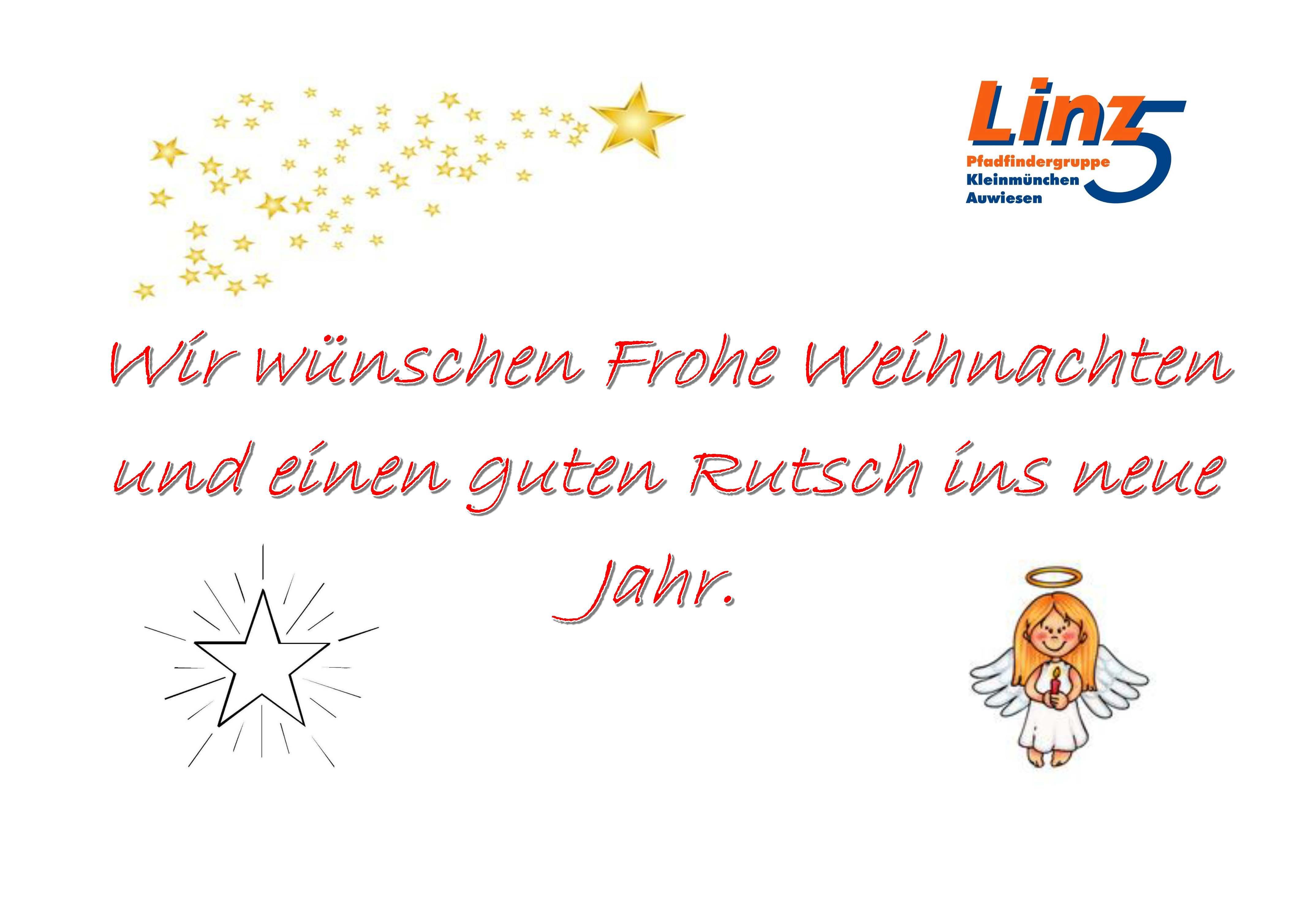 Frohe Weihnachten A4